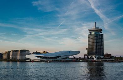 ADAM Toren opgeleverd in 2016 en samen met EYE een nieuwe bestemming in Amsterdam