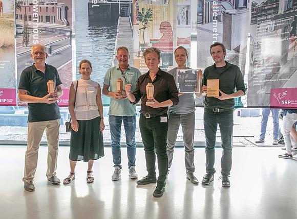 Stationsrenovatie Metro Oostlijn Amsterdam Winnaar NRP Gulden Feniks 2019 categorie Medium