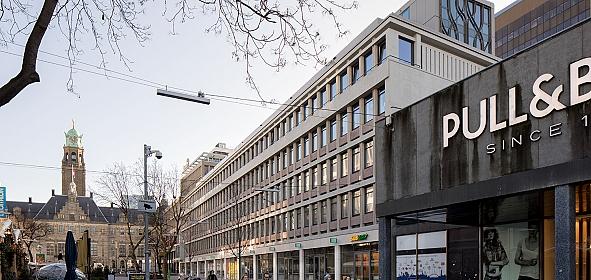 nieuwe situatie Stadhuisplein