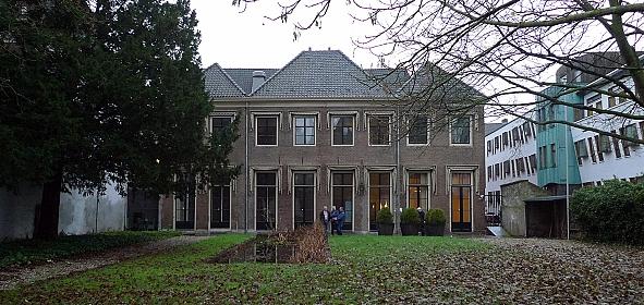 Paleistuin Hof van Heeckeren Zutphen, oorspronkelijke situatie