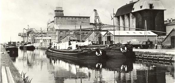 Historische foto CHV terrein
