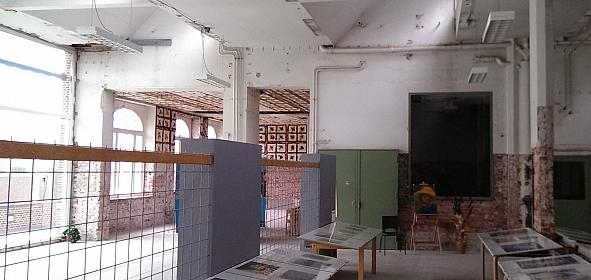 Oorspronkelijke situatie middenzone, voorheen centrale keuken van het psychiatrische inrichting voor mannen Servaashof