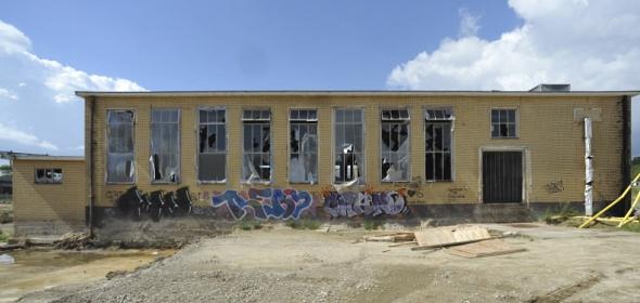 Oorspronkelijke situatie RAG gebouw | foto: Ruud Balk