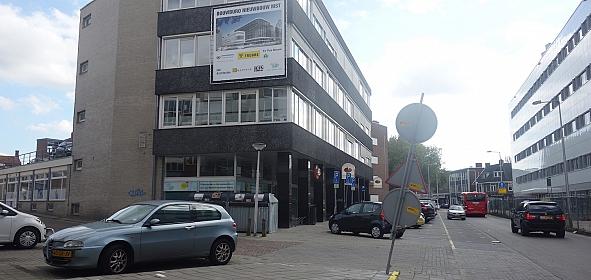 Oorspronkelijke situatie: bovenste twee verdiepingen in gebruik als bouwbureau voor het nieuwe ziekenhuis