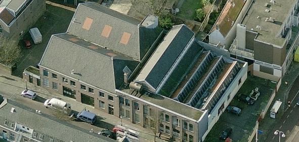 Oorspronkelijke situatie: fabriekscomplex bestaande uit een aaneenschakeling van verschillende bouwdelen, gefaseerd gebouwd tussen 1899-1926