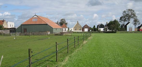 oorspronkelijke situatie agrarische schuur Rien