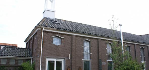 nieuwe situatie kerk Breskens