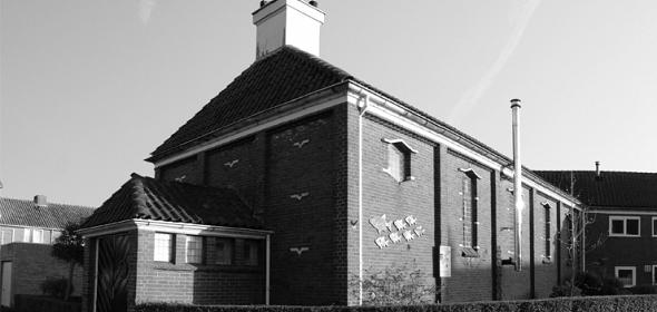 bestaande situatie kerk Breskens