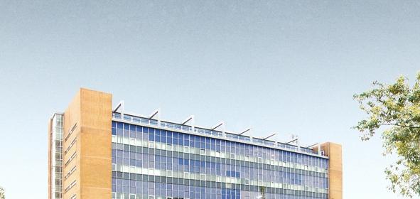 Oorspronkelijke situatie gebouw de Schilde, Den Haag