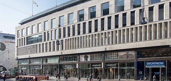 Nieuwe situatie gezien vanaf de Grote Marktstraat