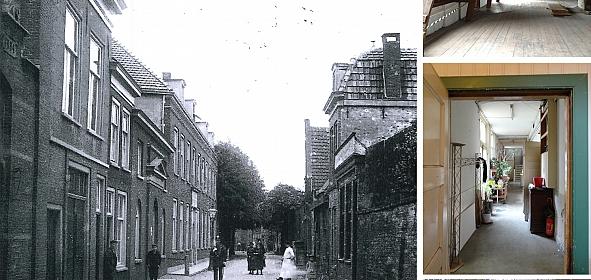 Het Wees- en Oudeliedenhuis dateert uit 1852 en was tot 2012 in gebruik als kraakpand