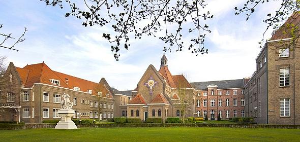 Kloostercomplex Eikenburg voor de transformatie