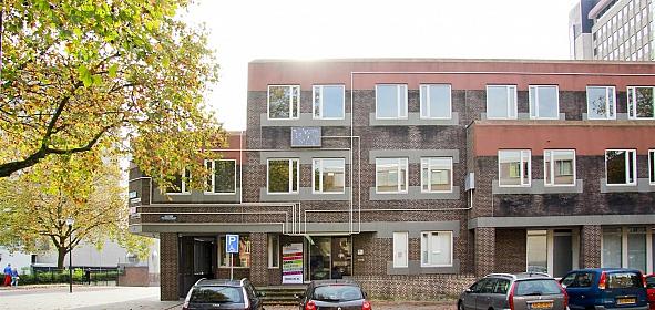 Oorspronkelijke situatie muziekschool Eindhoven, realisatie 1978