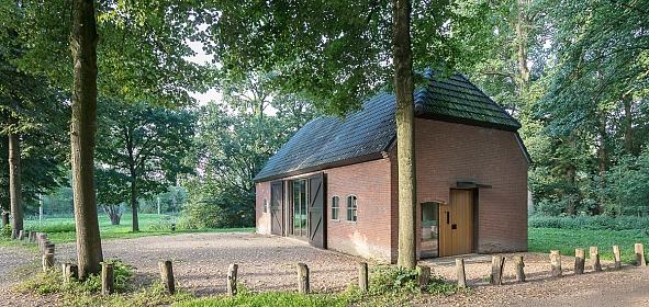 Herbestemde wederopbouw schuur, Museum Romeins Halder, foto:StijnPoelstra