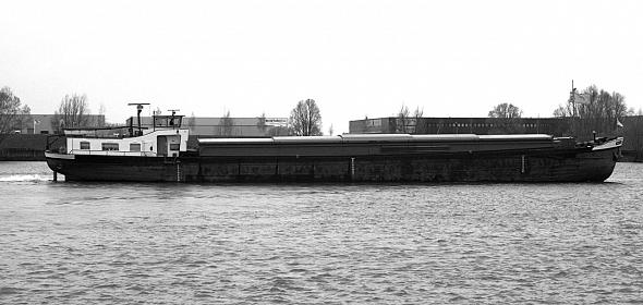 vrachtschip De Novatie oorspronkelijke situatie